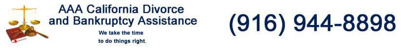 AAA Divorce & Bankruptcy Logo